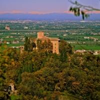 Vista Pianura padana dal Castello di Bianello - Caba2011 - Quattro Castella (RE)