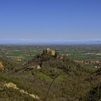Castello del BIanello che domina la pianura padana - Caba2011 - Quattro Castella (RE)