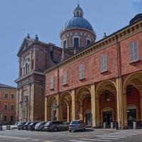 Basilica della Ghiara con i portici dei chiostri - Caba2011 - Reggio nell'Emilia (RE)