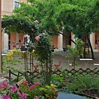 Angolo cortile interno - Caba2011 - Reggio nell'Emilia (RE)