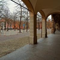 Piazza Fontanesi-La piazza reggiana con impronta parigina - Caba2011 - Reggio nell'Emilia (RE)