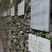 Via Dei Pensieri Sospesi dedicata a Tonino Guerra - Luca - Pennabilli (RN)