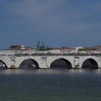 Ponte di Tiberio - Flying Russian - Rimini (RN)