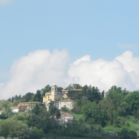 Montecolombo e la sua chiesa - Anna pazzaglia - Montescudo - Monte Colombo (RN)