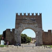 Arco di augusto, rimini, interno 01 - Sailko - Rimini (RN)