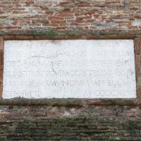 Castel sismondo, targa s. p. malatesta 1446, 02 - Sailko - Rimini (RN)