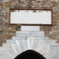 Castel sismondo, portale, targa s. p. malatesta 1446 - Sailko - Rimini (RN)