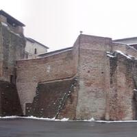 Scorcio inusuale del castello in una giornata di inverno - opi1010 - Opi1010 - Rimini (RN)
