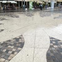 Rimini, piazza tre martiri, pavimento 01 - Sailko - Rimini (RN)