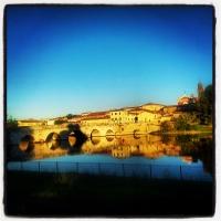 Tramonto sul Ponte di Tiberio - opi1010 - Opi1010 - Rimini (RN)