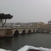 La neve imbianca anche il ponte di Tiberio - opi1010 - Opi1010 - Rimini (RN)