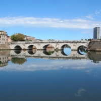 Ponte di tiberio, rimini, 03 - Sailko - Rimini (RN)