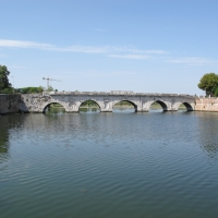 Rimini, ponte romano 01 - Sailko - Rimini (RN)
