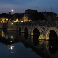 Ponte di Tiberio by night - Anna pazzaglia - Rimini (RN)