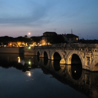 Tiberio's bridge by night - Anna pazzaglia - Rimini (RN)
