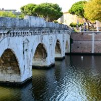 Ponte di Tiberio, southern end - Optimistiks - Rimini (RN)