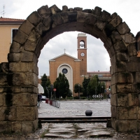 Rimini, porta montanara, int. 01 - Sailko - Rimini (RN)