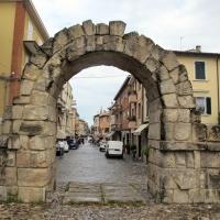 Rimini, porta montanara, est. 03 - Sailko - Rimini (RN)