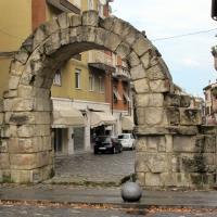 Rimini, porta montanara, est. 04 - Sailko - Rimini (RN)