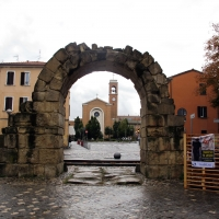 Rimini, porta montanara, int. 02 - Sailko - Rimini (RN)