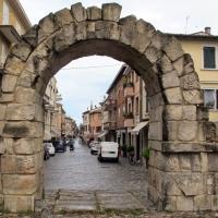Rimini, porta montanara, est. 02 - Sailko - Rimini (RN)