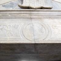 Cappella dei caduti, portale 07 profilo sigismondo malatesta - Sailko - Rimini (RN)