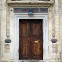 Tempio malatestiano, ri, facciata, portale 02 - Sailko - Rimini (RN)