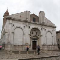 Tempio malatestiano, ri, facciata 02 - Sailko - Rimini (RN)