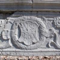 Tempio malatestiano, esterno, zoccolo, stemma malatesta 01 - Sailko - Rimini (RN)