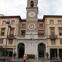 Rimini, piazza tre martiri, torre dell'orologio - Sailko - Rimini (RN)