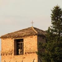 Campanile della chiesa di San Paolo preso dal monte - LaraLally19 - Montefiore Conca (RN)