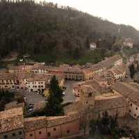 La piazza dalla Rocca - LaraLally19 - Montefiore Conca (RN)