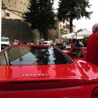 La piazza ed il raduno Ferrari - LaraLally19 - Montefiore Conca (RN)