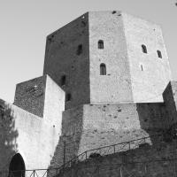 Rocca vista 1 B&W - Loris Temeroli - Montefiore Conca (RN)
