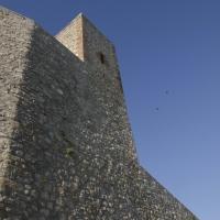 ROCCA MALATESTIANA - PARTICOLARE ESTERNO FACCIATA NORD - FabioFromItaly - Montefiore Conca (RN)