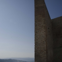 ROCCA MALATESTIANA - PARTICOLARE MURAGLIONE ESTERNO - FabioFromItaly - Montefiore Conca (RN)