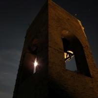 Spiragli di luna attraverso il campanile - LaraLally19 - Montefiore Conca (RN)
