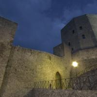 La Rocca le sue mura e l ultima luce in cielo - LaraLally19 - Montefiore Conca (RN)