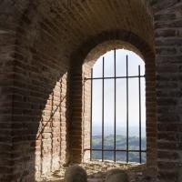 ROCCA MALATESTIANA (PARTICOLARE CINTA MURARIA) - FabioFromItaly - Montefiore Conca (RN)