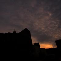 Rocca nuvole e tramonto - LaraLally19 - Montefiore Conca (RN)