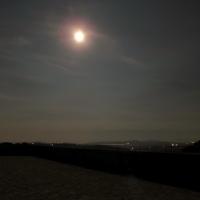 Luminosità lunare sulla terrazza della rocca - LaraLally19 - Montefiore Conca (RN)