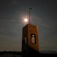 La luce della luna sul campanile della Rocca - LaraLally19 - Montefiore Conca (RN)