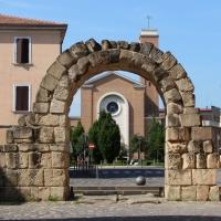 Rimini, porta montagnara, veduta 01 - Sailko - Rimini (RN)