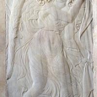 Cappella delle virtù o di san sigismondo, angeli reggicortina di dx di agostino di duccio 03,4 - Sailko - Rimini (RN)