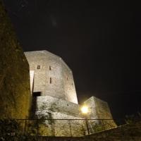 La rocca, la neve, la magia di una visione unica - Larabraga19 - Montefiore Conca (RN)