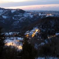 Una vista unica dal piazzale - Larabraga19 - Montefiore Conca (RN)