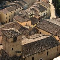 Il borgo visto dalla Rocca - Larabraga19 - Montefiore Conca (RN)