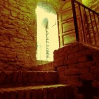 Le scale della fortezza - Larabraga19 - Montefiore Conca (RN)