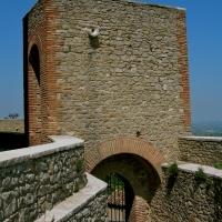 I camminamenti all'interno della Rocca - Caba2011 - Montefiore Conca (RN)