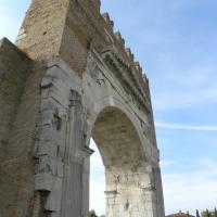 La sfidante ed ETERNA imponenza massiccia dell'Arco IMPERIALE di RIMINI - Claudio CASADEI - Rimini (RN)